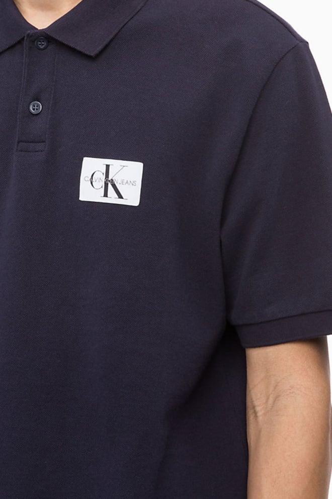 Calvin klein monogram logo polo night sky - Calvin Klein
