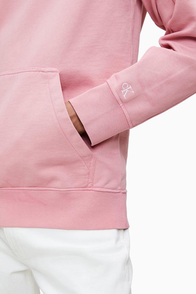 Calvin klein badstof hoodie roze - Calvin Klein