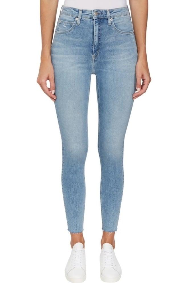 Calvin klein high rise super skinny jeans lichtblauw - Calvin Klein
