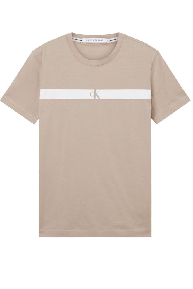 Calvin klein jeans logo t-shirt bruin - Calvin Klein Jeans