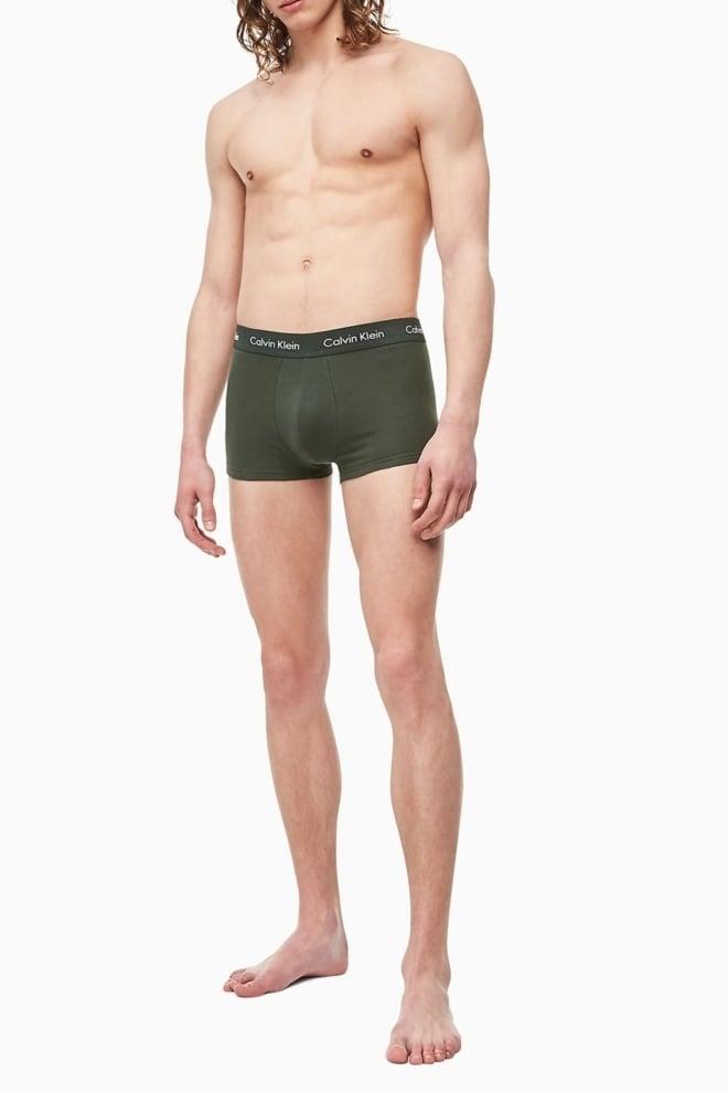 Calvin klein low rise boxers 3-pack blauw/roze/groen - Calvin Klein