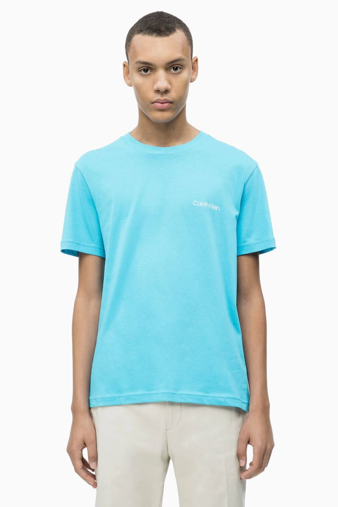 Calvin klein logo t-shirt lichtblauw - Calvin Klein