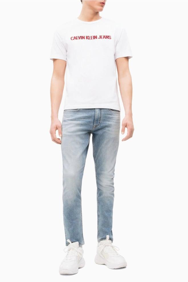 Calvin klein logo t-shirt wit - Calvin Klein