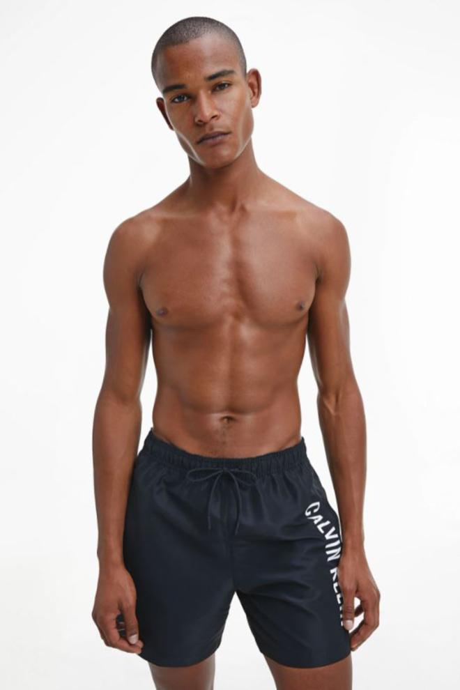 Calvin klein medium zwemshort zwart - Calvin Klein Underwear