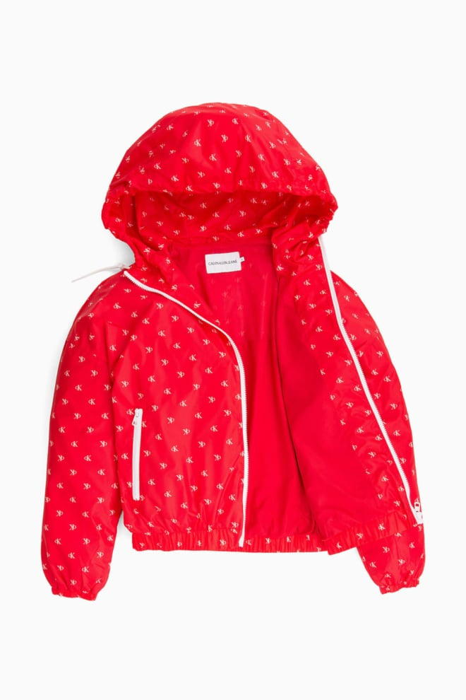 Calvin klein windjack rood - Calvin Klein