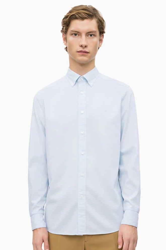 Calvin klein overhemd licht blauw - Calvin Klein