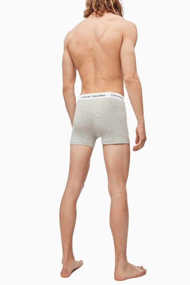 Calvin klein 3-pack lage boxers zwart/wit/grijs