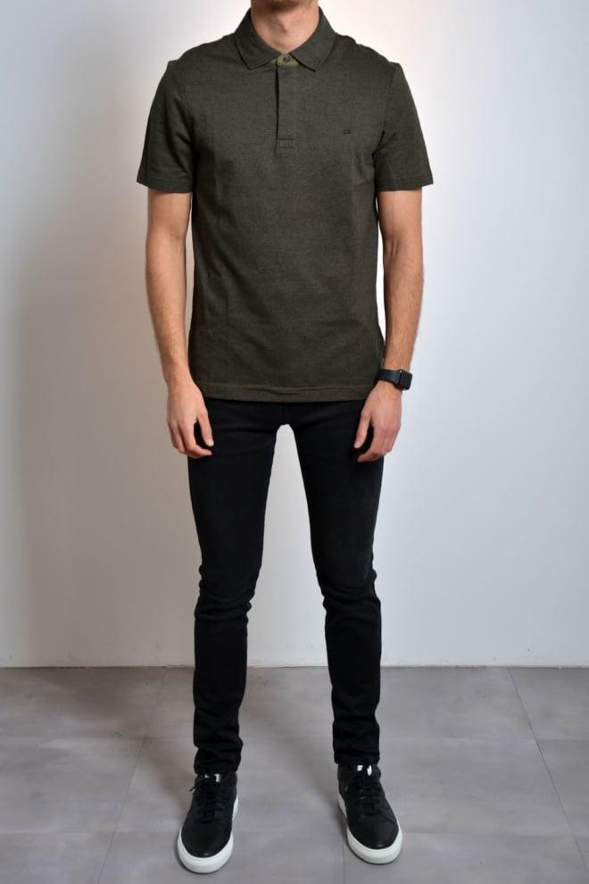 Calvin klein polo donkergroen - Calvin Klein
