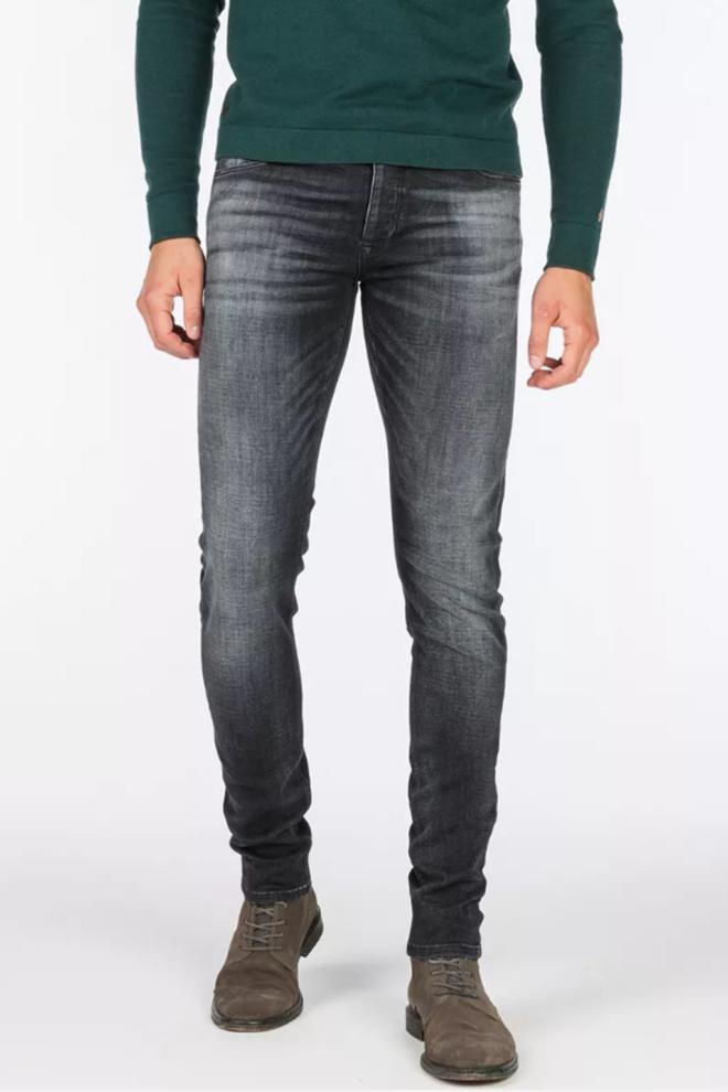 Cast iron riser jeans donkergrijs - Cast Iron