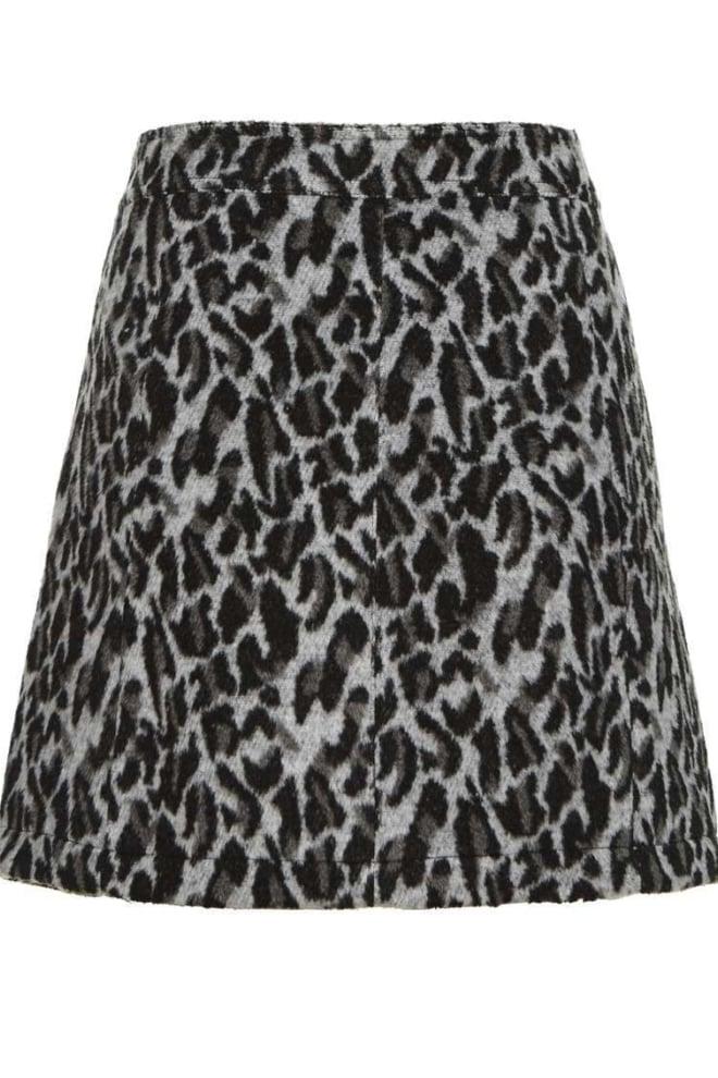 Circle of trust feline skirt light grey melange - Circle Of Trust