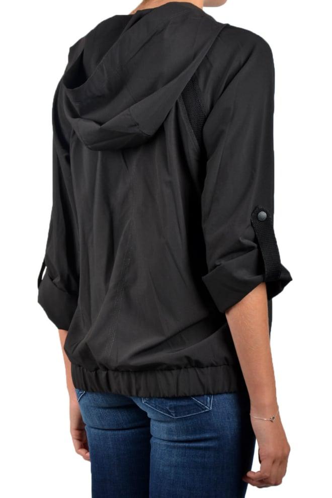 Dkny roll cuff boxy jacket black - Dkny