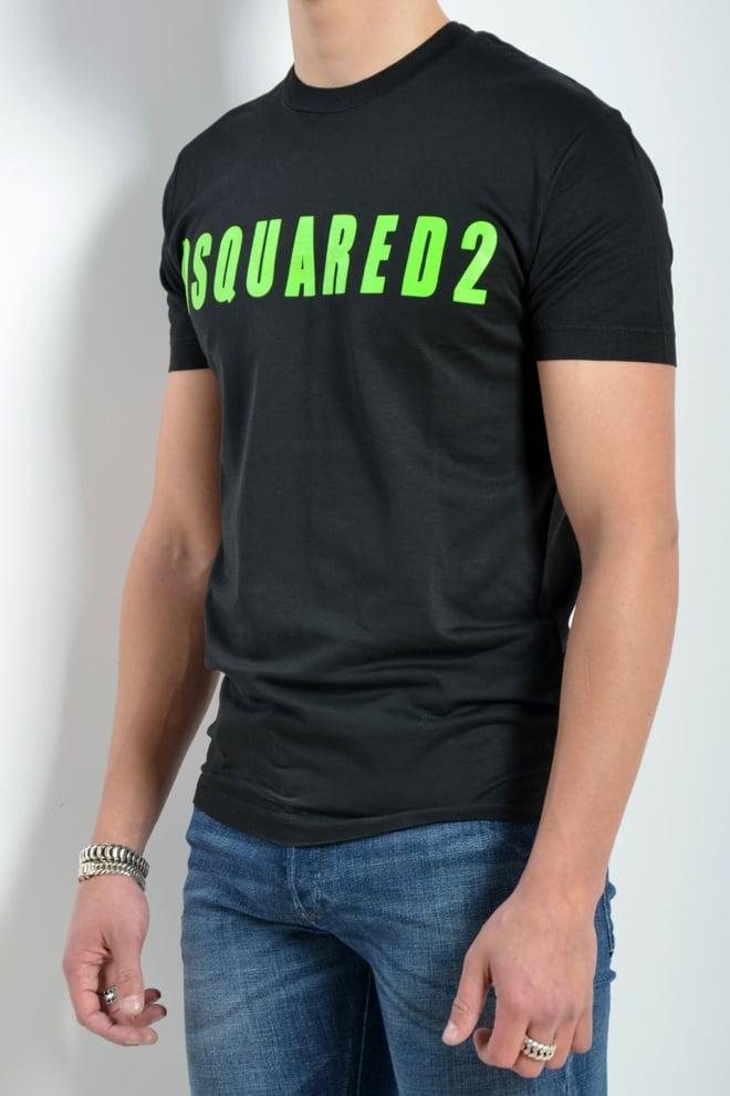 Dsquared t-shirt zwart logo - Dsquared