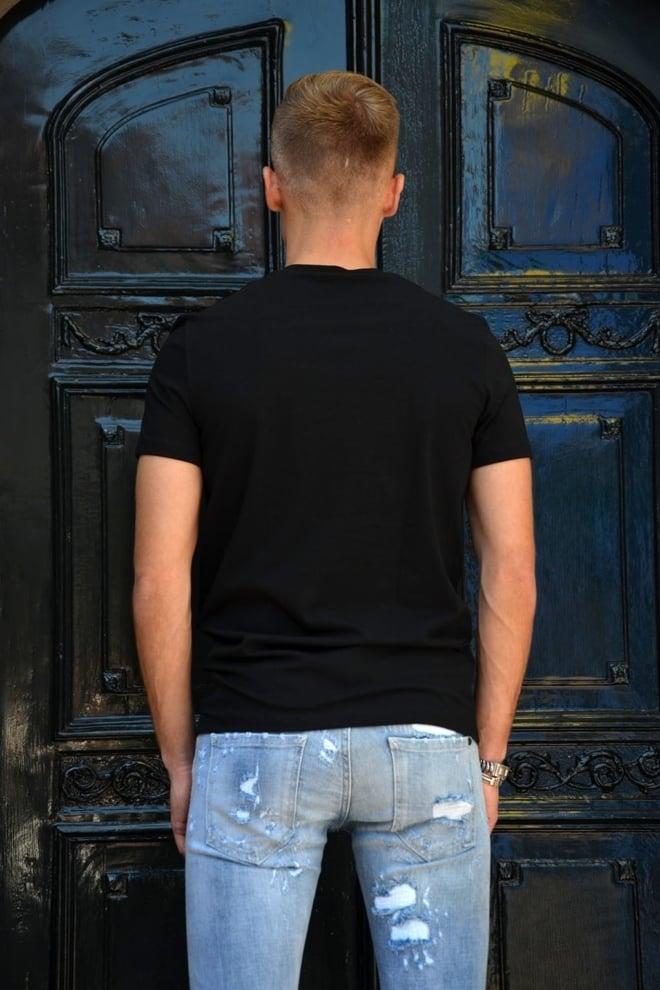 Dsquared2 t-shirt heren zwart - Dsquared