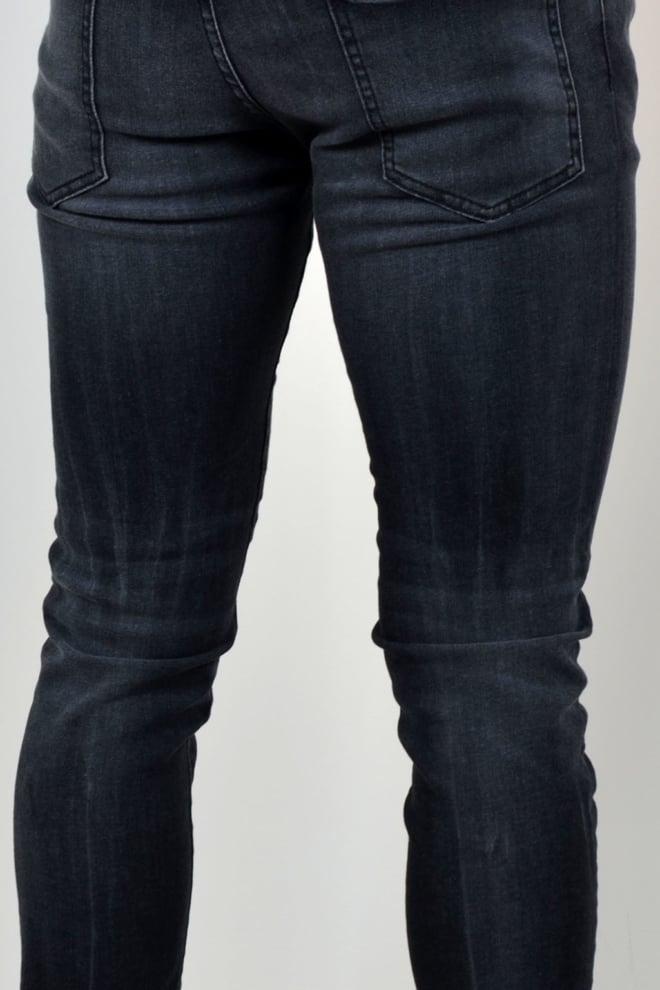 Dsquared2 black washed skater jeans zwart - Dsquared