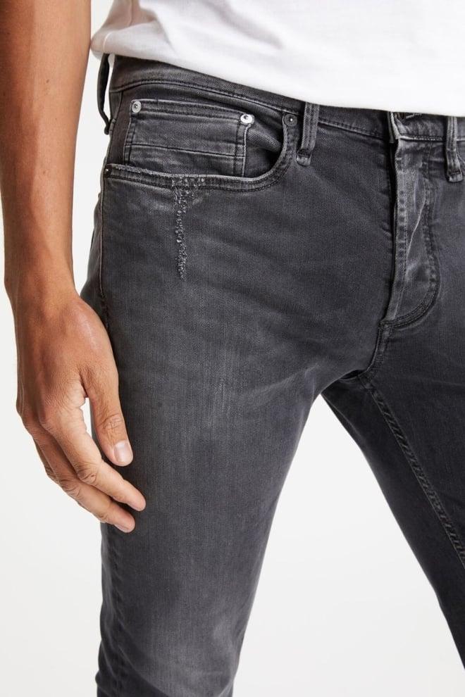 Denham bolt rip & repair jeans grijs - Denham