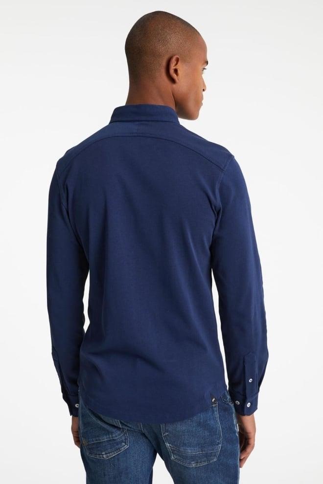 Denham bridge overhemd blauw - Denham