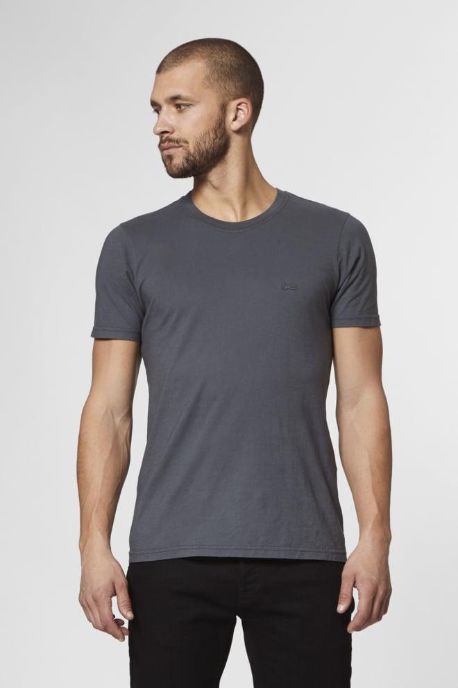 Denham crew t-shirt mojd grijs - Denham