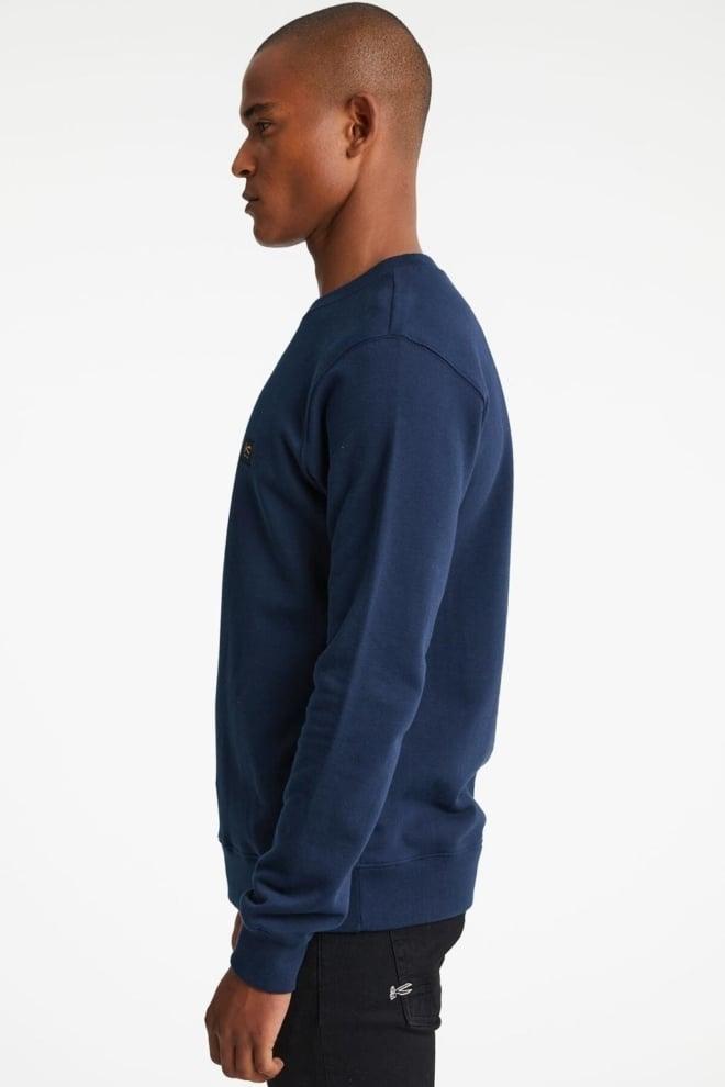 Denham wilson sweater donkerblauw - Denham