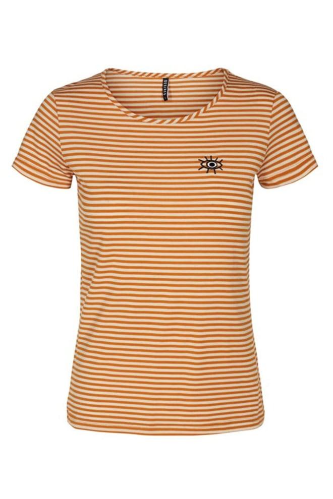 Desires varny 2 t-shirt goud - Desires