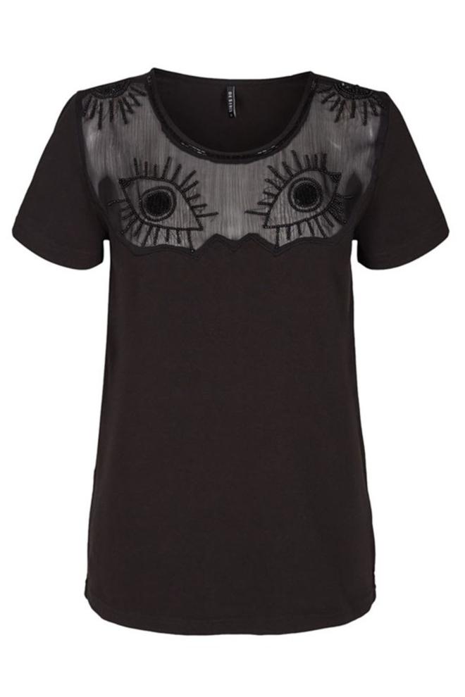 Desires vernia shirt zwart - Desires