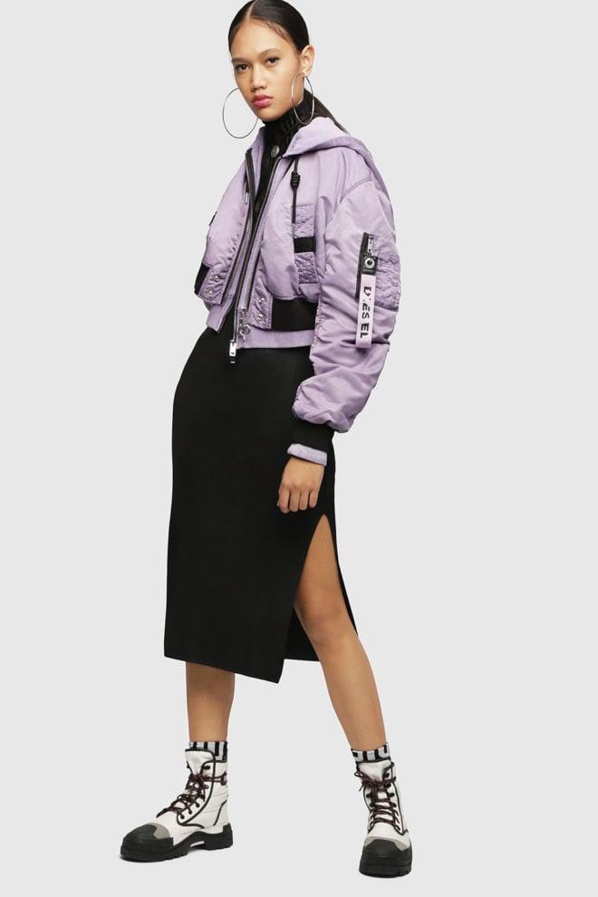 Diesel g-ikue jacket purple - Diesel