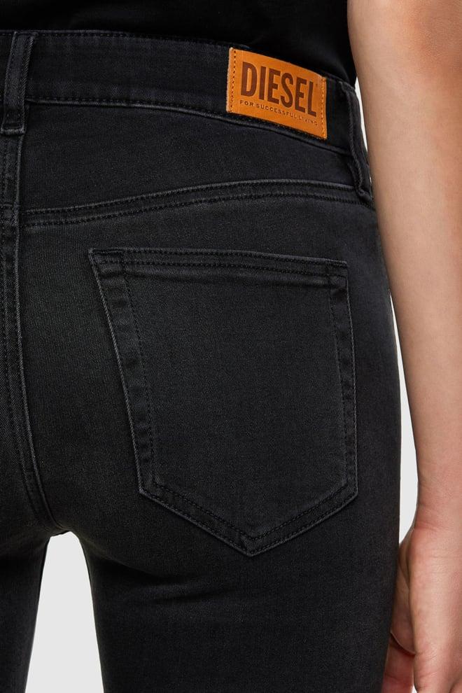 Diesel slandy 069jw jeans zwart - Diesel