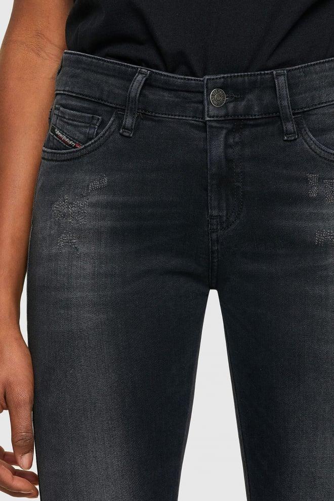 Diesel slandy 069sb jeans donkergrijs - Diesel