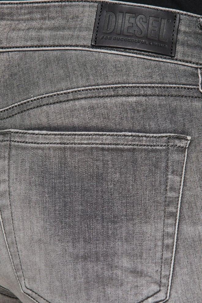 Diesel slandy-low 009fd jeans grijs - Diesel