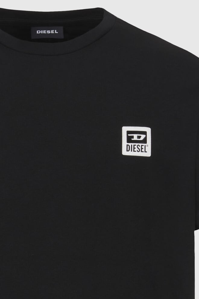 Diesel t-diegos-k30 t-shirt zwart - Diesel