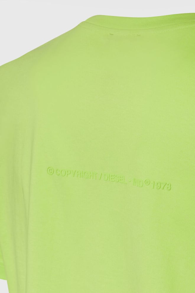 Diesel t-tubolar-x2- t-shirt groen - Diesel