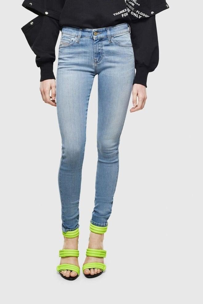 Diesel slandy 0096l dames jeans lichtblauw - Diesel