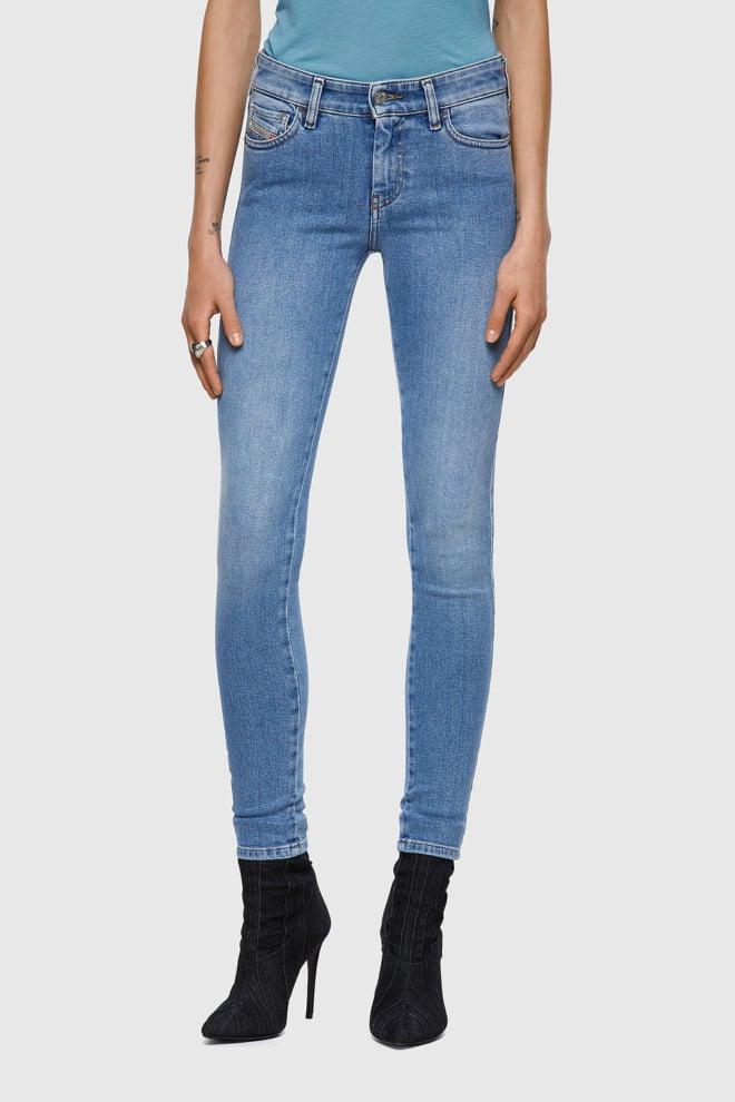 Diesel slandy 9zy jeans lichtblauw - Diesel