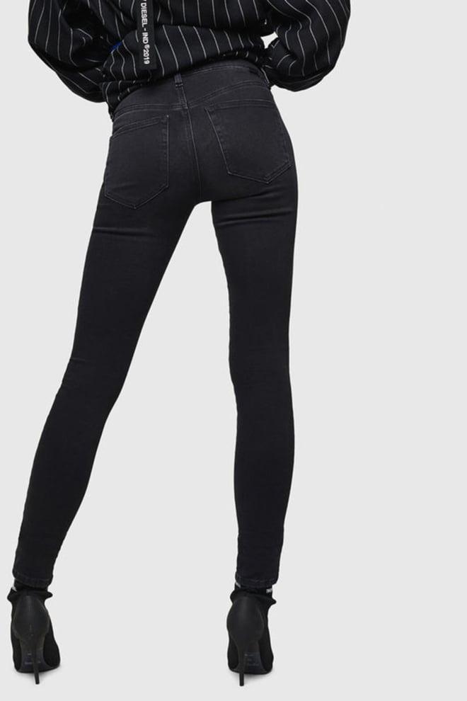 Diesel slandy 069gg jeans zwart - Diesel