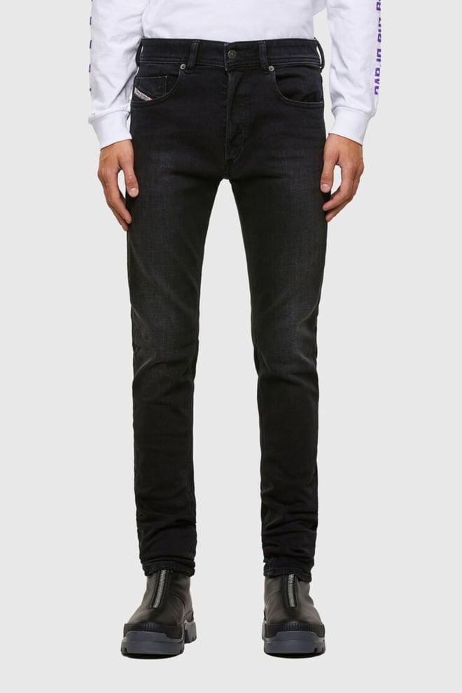 Diesel sleenker 009dh jeans zwart - Diesel