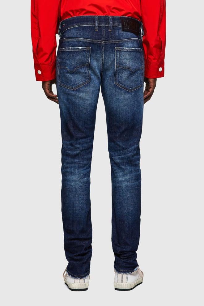 Diesel sleenker 09a27 jeans blauw - Diesel