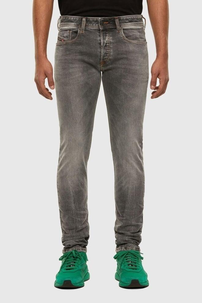 Diesel sleenker jeans 009fw grijs - Diesel