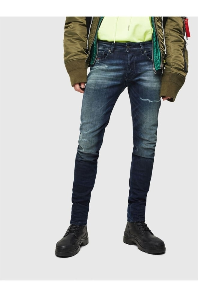 Diesel sleenker-x97p jeans donkerblauw - Diesel