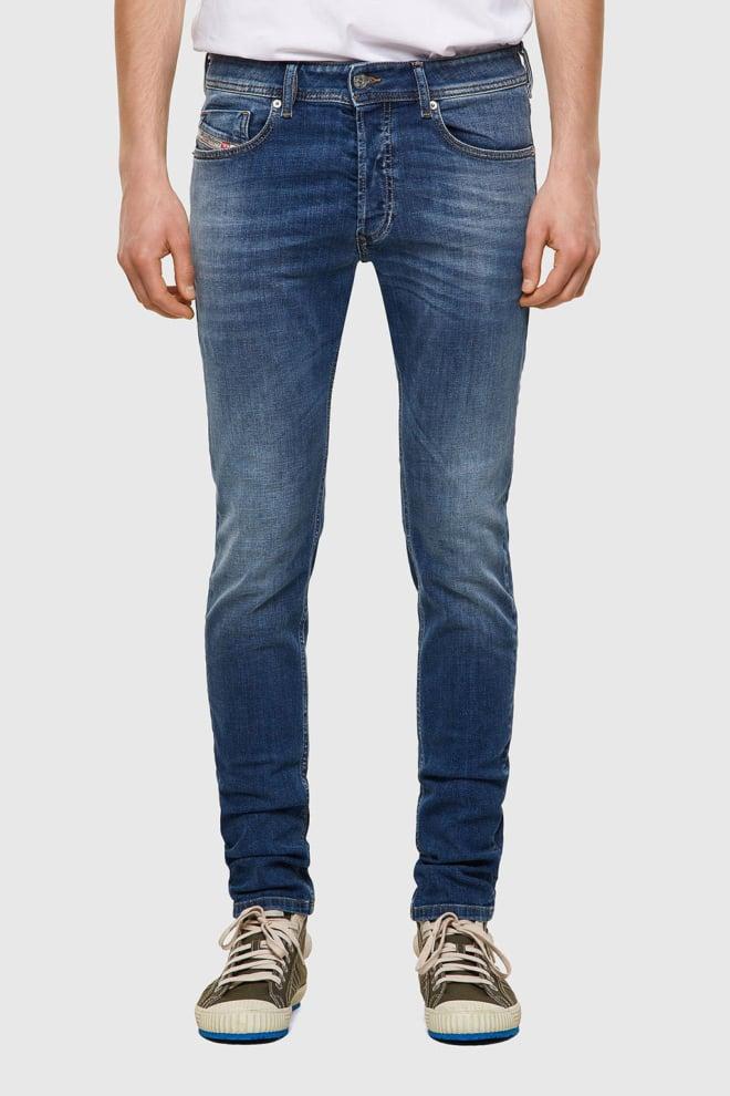 Diesel sleenker-x 09a60 jeans blauw - Diesel