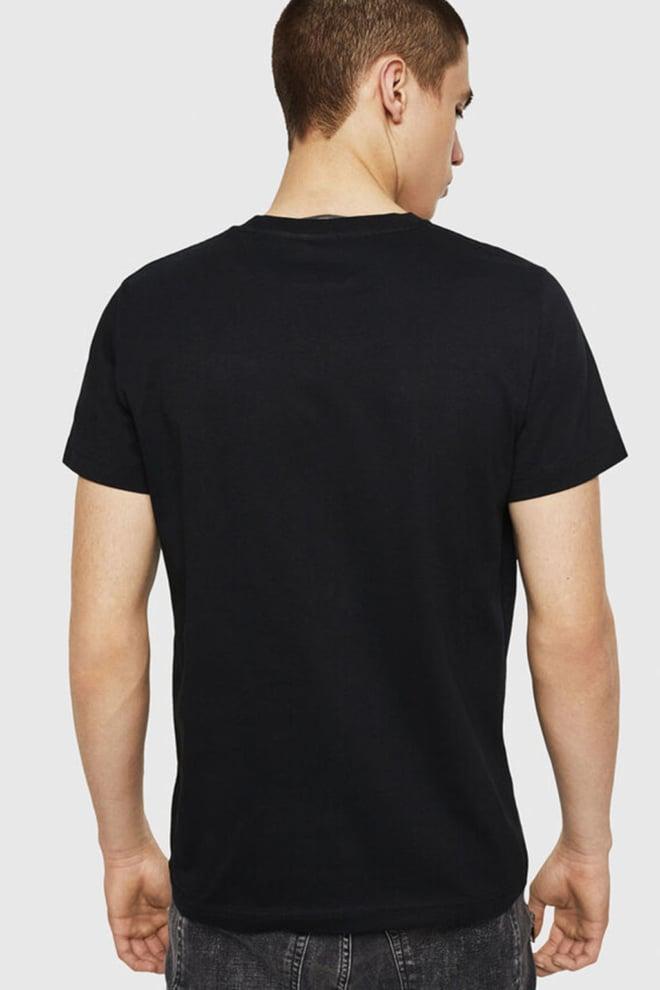 Diesel t-diego-a8 t-shirt zwart - Diesel