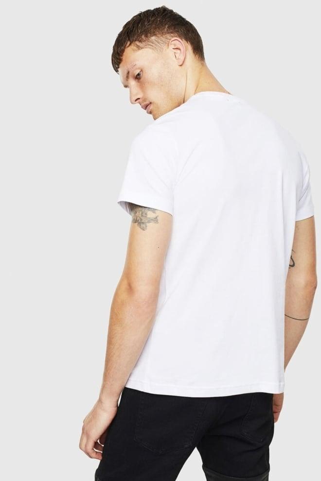 Diesel t-diego-cuty t-shirt wit - Diesel