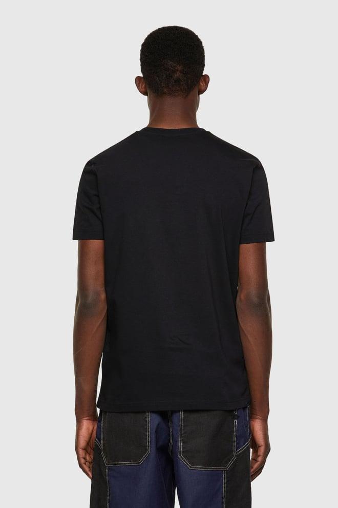 Diesel t-diegos-b8 t-shirt zwart - Diesel