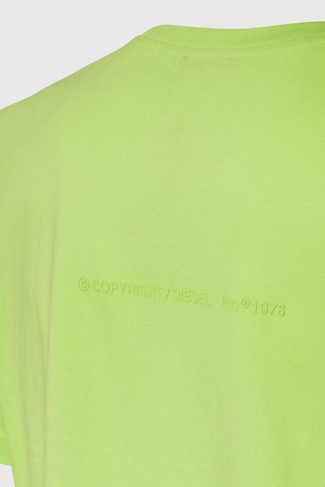 Diesel t-tubolar x20 t-shirt groen - Diesel