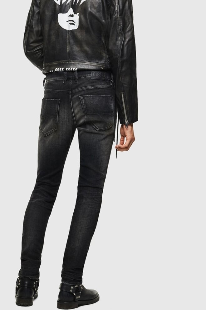Diesel tepphar 0098b jeans zwart - Diesel