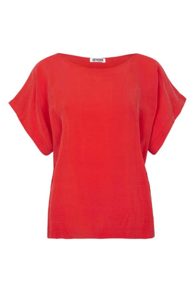 Drykorn somia blouse rood - Drykorn