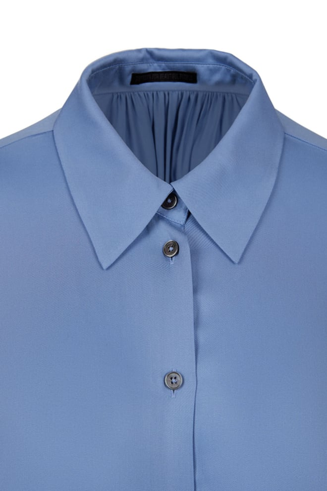 Drykorn donya blouse blauw - Drykorn