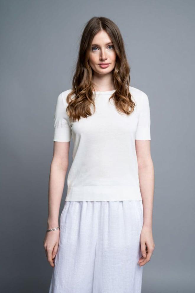 Drykorn fammy t-shirt wit - Drykorn