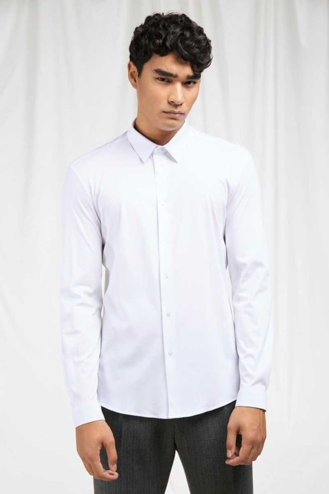 Drykorn ruben overhemd wit - Drykorn