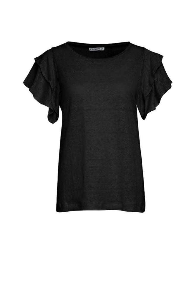 Drykorn jisane t-shirt zwart - Drykorn