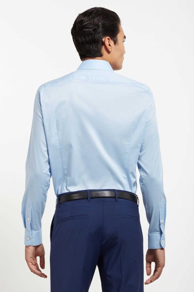 Drykorn elias overhemd lichtblauw - Drykorn