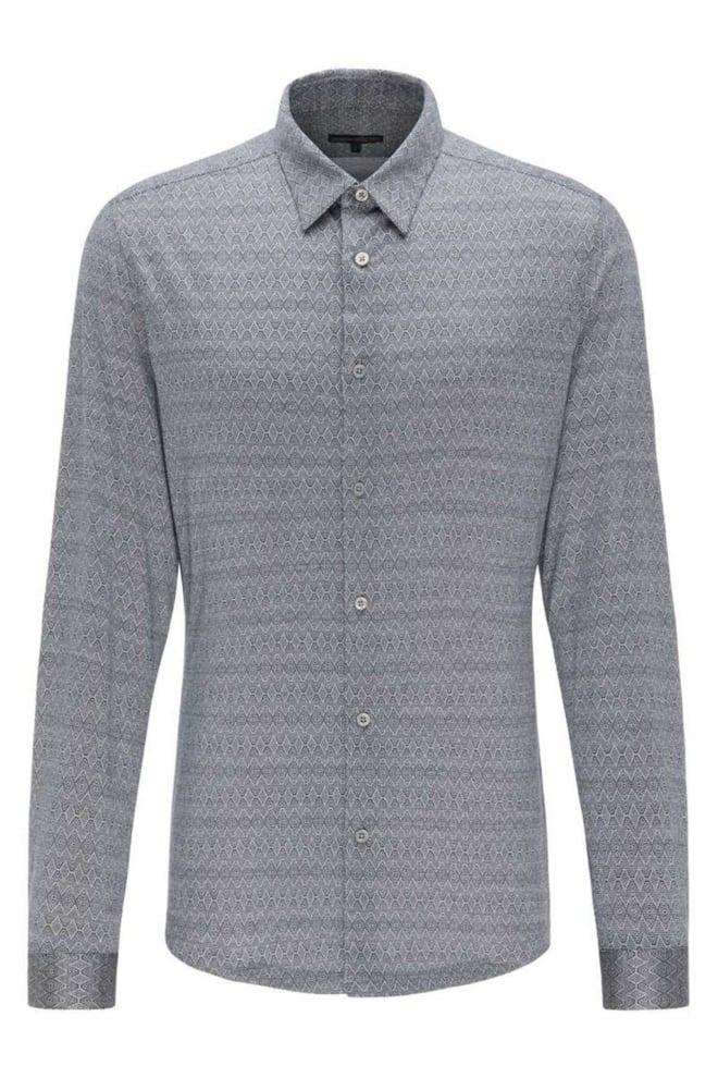 Drykorn ruben overhemd grijs - Drykorn